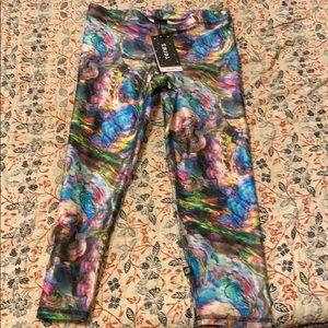 Terez Colorful Fun Capri Leggings